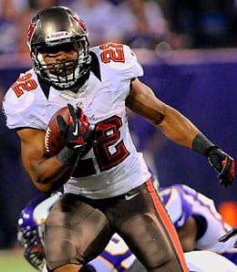Doug Martin burst onto the scene with the Tampa Bay Buccaneers last year.