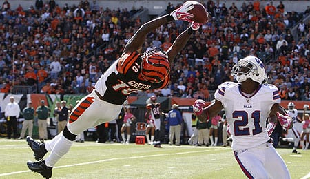 A.J. Green just keeps getting better for the Cincinnati Bengals.