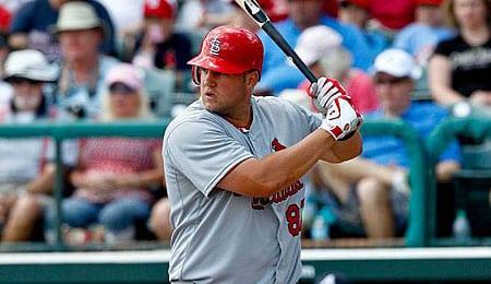 Matt Adams is going to get more PT for the St. Louis Cardinals.