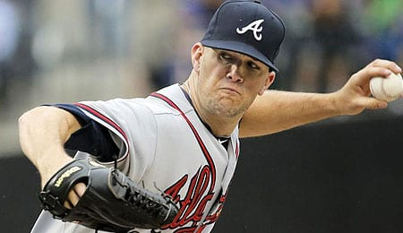 Alex Wood has been impressive as a starter for the Atlanta Braves.