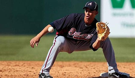 Andrelton Simmons has been a defensive wizard for the Atlanta Braves.