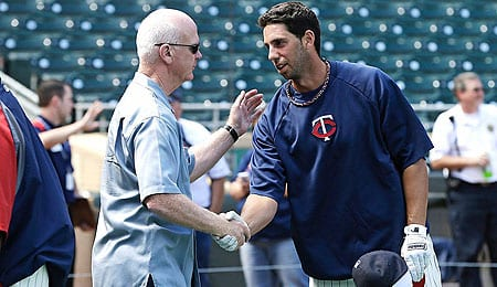 Chris Colabello was the hero for the Minnesota Twins.