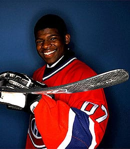 P.K. Subban is the man for the Montreal Canadiens.