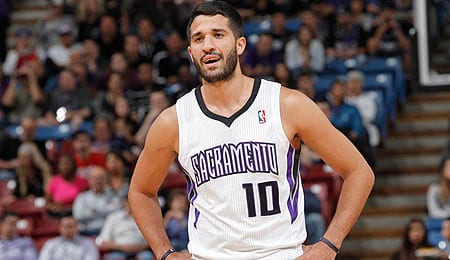 Greivis Vasquez will probably come off the bench for the Sacramento Kings.