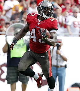 Bobby Rainey looks like the man for the Tampa Bay Buccaneers.