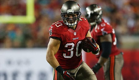 Brian Leonard has a nice matchup for the Tampa Bay Buccaneers.