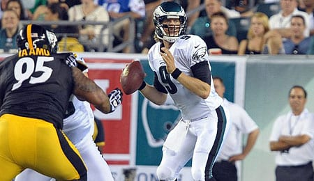 Nick Foles put on a serious show for the Philadelphia Eagles.