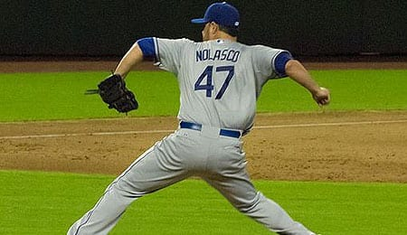 Ricky Nolasco has signed with the Minnesota Twins.