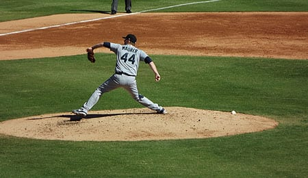 Seattle Mariners starting pitcher Brandon Maurer struggled in the AFL.