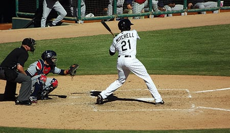 Jared Mitchell increased his stock for the Chicago White Sox.