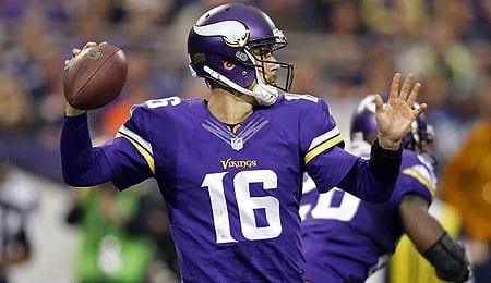 Matt Cassel could be a nice play for the Minnesota Vikings.