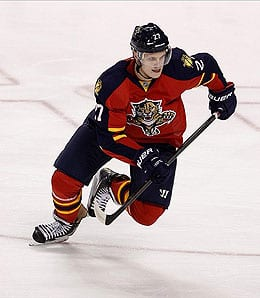 Nick Bjugstad has been getting it done for the Florida Panthers.