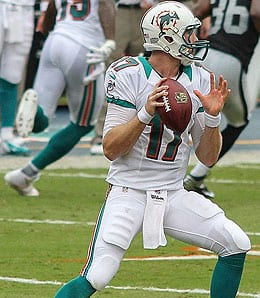 Ryan Tannehill is heating up for the Miami Dolphins.