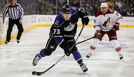 Tyler Toffoli has been impressive for the Los Angeles Kings.