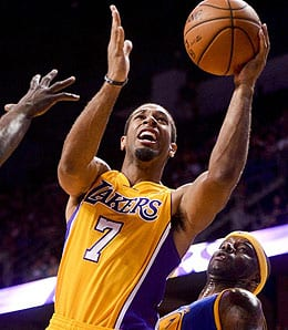 Xavier Henry is going to get plenty of burn for the Los Angeles Lakers.