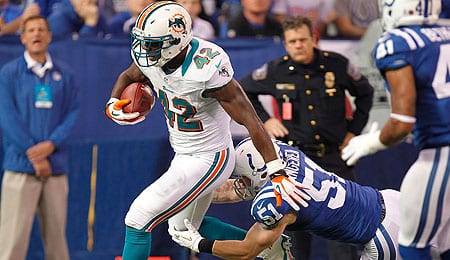 Charles Clay's all-around abilities make him a nice weapon for the Miami Dolphins.
