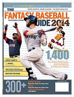 The 2014 Fantasy Baseball Guide