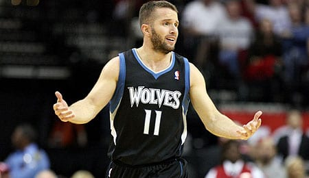 J.J. Barea is starting to see more action for the Minnesota Timberwolves.