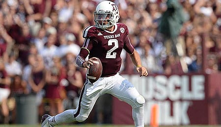 Johnny Manziel was a stud for the Texas A&M Aggies.