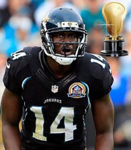 Justin Blackmon just keeps burning his owners for the Jacksonville Jaguars.