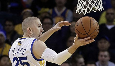 Steve Blake has been traded to the Golden State Warriors.