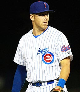 Mike Olt is waiting for his chance to make an impact for the Chicago Cubs.
