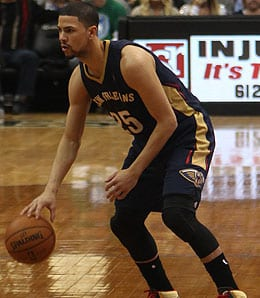 Austin Rivers has been playing with serious hustle for the New Orleans Pelicans.