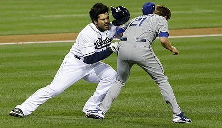 Carlos Quentin is hurt again for the San Diego Padres.
