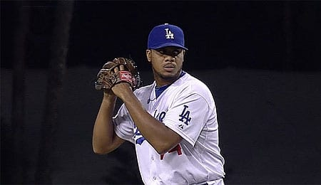 Kenley Jansen has become quite the door slammer for the Los Angeles Dodgers.