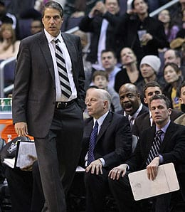 Randy Wittman has guided the Washington Wizards to the playoffs.
