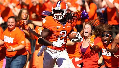 Sammy Watkins of the Clemson Tigers have been linked to the Raiders.