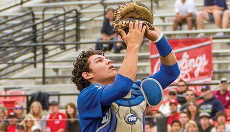 Alex Jackson has power for Rancho Bernando High School.