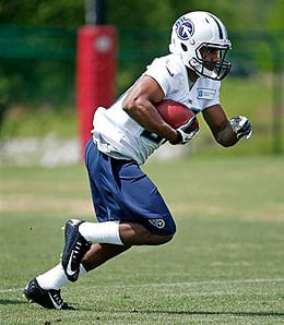 Bishop Sankey was the first running back off the board, drafted by the Tennessee Titans.