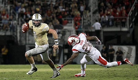 Blake Bortles of the Central Florida Golden Knights is one of the Big Three QBs in the 2014 NFL draft.