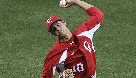 Brady Aiken was the ace of Cathedral Catholic high school.