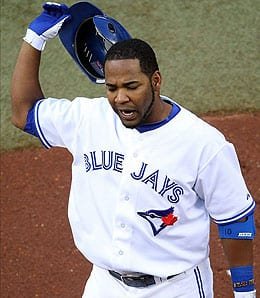 Edwin Encarnacion had a bad start for the Toronto Blue Jays.