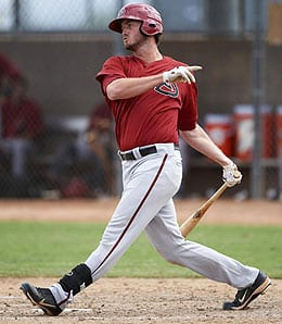 Jon Griffin flashed some crazy power in the Arizona Diamondbacks minor league system.