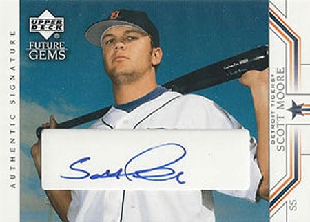 Scott Moore was once an up and coming star for the Detroit Tigers.