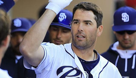 Seth Smith has been tearing it up for the San Diego Padres.