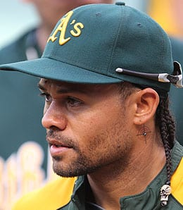 Coco Crisp has been productive when healthy for the Oakland Athletics.