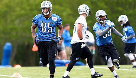 Eric Ebron gives the Detroit Lions another option in their passing game.