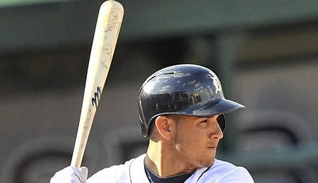 Eugenio Suarez continues the revolving door at shortstop for the Detroit Tigers.