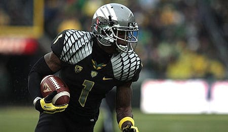 Josh Huff is one of two rookie receivers expected to make an impact with the Philadelphia Eagles.