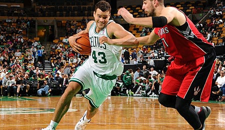 Kris Humphries had a nice bounce back season for the Boston Celtics.