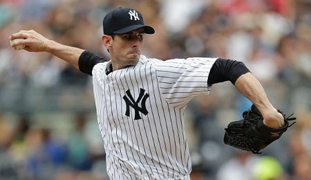 Brandon McCarthy brings a veteran presence to the New York Yankees rotation.