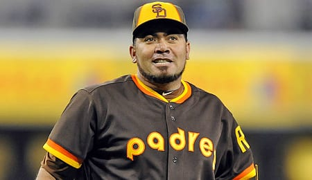 Joaquin Benoit has taken over as the closer for the San Diego Padres.