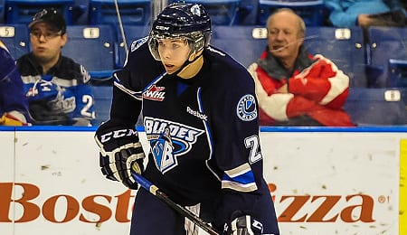 Nikita Scherbak signed with the Montreal Canadiens this week.