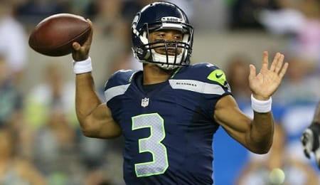 Russell Wilson is hoping to continue improving for the Seattle Seahawks.