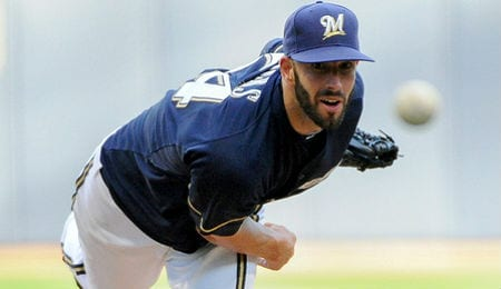Mike Fiers may have a permanent role in the Milwaukee Brewer rotation.