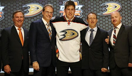 Nick Ritchie will get a long look with the Anaheim Ducks this fall.